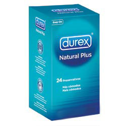 Durex Natural Plus 24 uds.