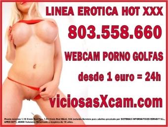 sexo webcam 1 euro todo el dia, videollamada porno y sexo telefonico 803558660, chicas amateur