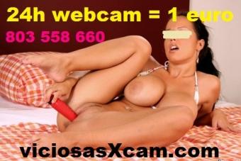 1 EURO = 1 DIA DE SEXO CAM, WEBCAM XXX, PORNO, VIDEOLLAAMDA 1 SMS
