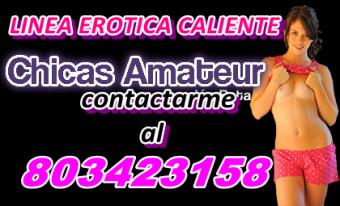 Sexo telefónico con chicas amateurs de tu ciudad NUMERO 8 0 3 - 4 2 3 - 1 5 8 .