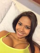 Una chica guapísima, de 25 añitos