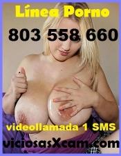 PAJAS POR TELEFONO 803 558 660, GUARRA CACHONDA TETAS GRANDES  EN DIRECTO POR WEBCAM 1 EURO / DIA