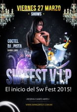 Swinger Fest V.I.P. Un evento intimo el 27 de Marzo