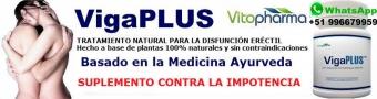 VigaPlus - Medicamento natural anti-impotencia recupera tus erecciones retarda la eyaculacion precoz