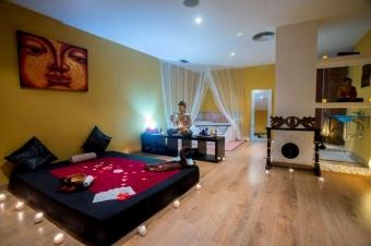 Centro de masajes eroticos, Lujosas y cuidadas instalaciones de masaje