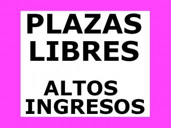 Plaza Libre - 5 mil euros mensuales - Trabaja como Escort