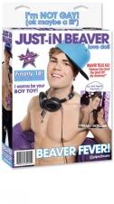 Muñeco Just in beaver